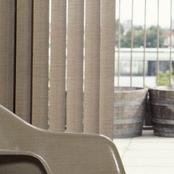Luxaflex Vertical Transparent Naturals - 89mm